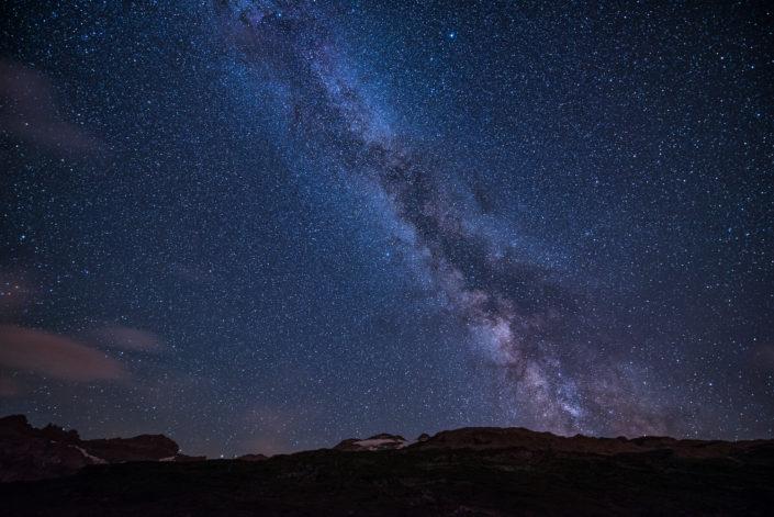 Klausenpass Milchstraße