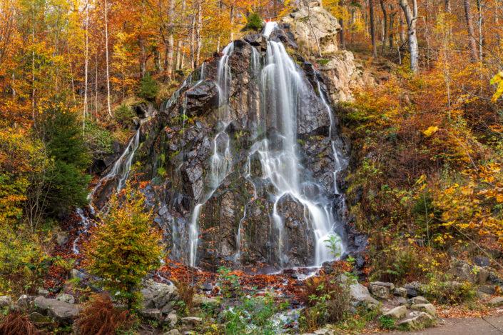 Radau Wasserfall herbst