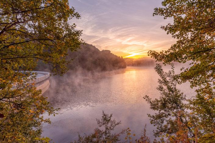 remscheid eschbachtalsperre Sonnenaufgang