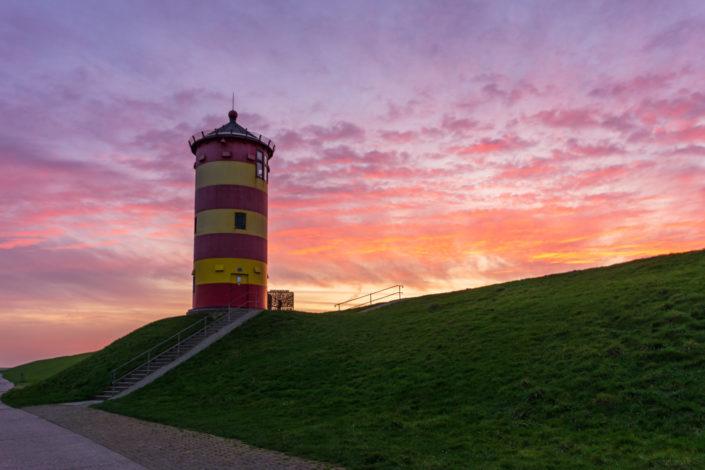 Pilsumer Leuchtturm Sonnenuntergang