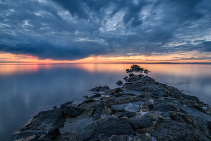 Sonnenuntergang Nordsee