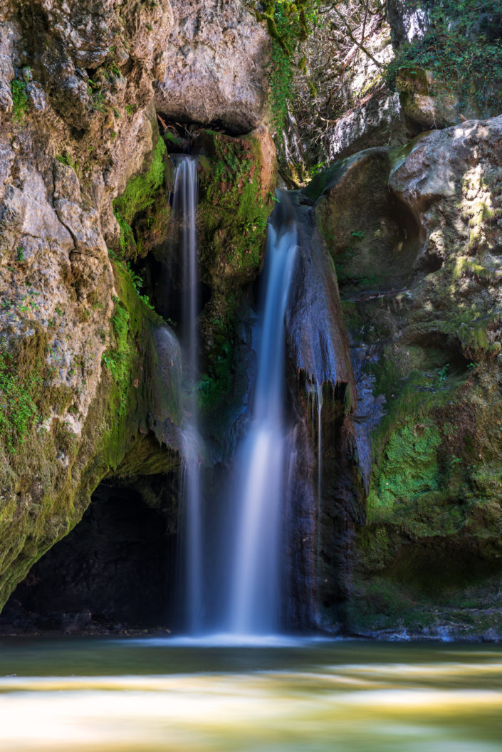 Wasserfall in der Scheiz
