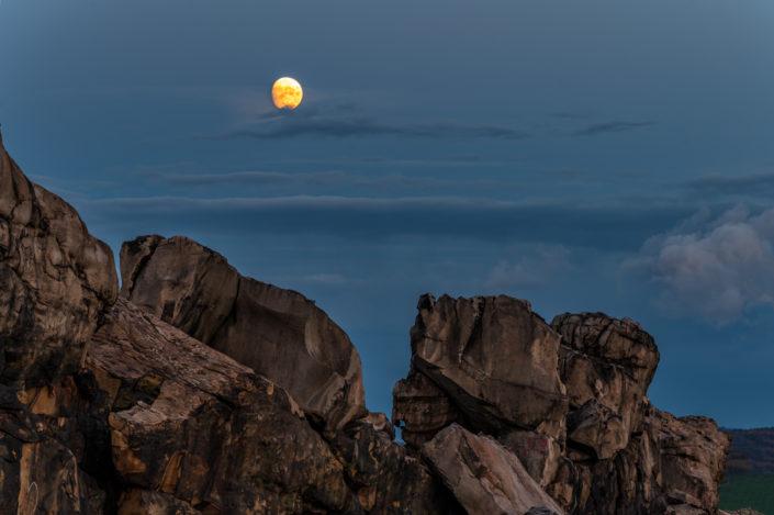 Mond Teufelsmauer Harz
