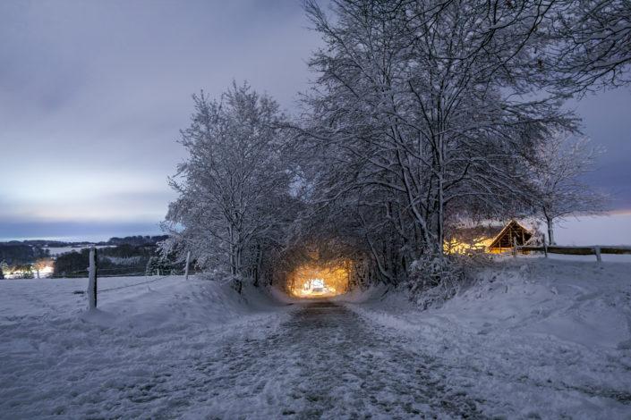 Wermelskirchen Eipringhausen Schnee