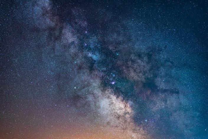 nahaufnahme milchstraßen Zentrum