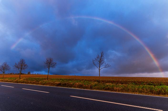 Regenbogen Harz