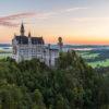 Sonnenaufgang Schloss Neuschwanstein