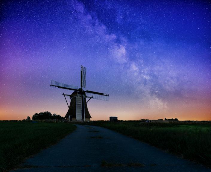 windmill netherland milkyway
