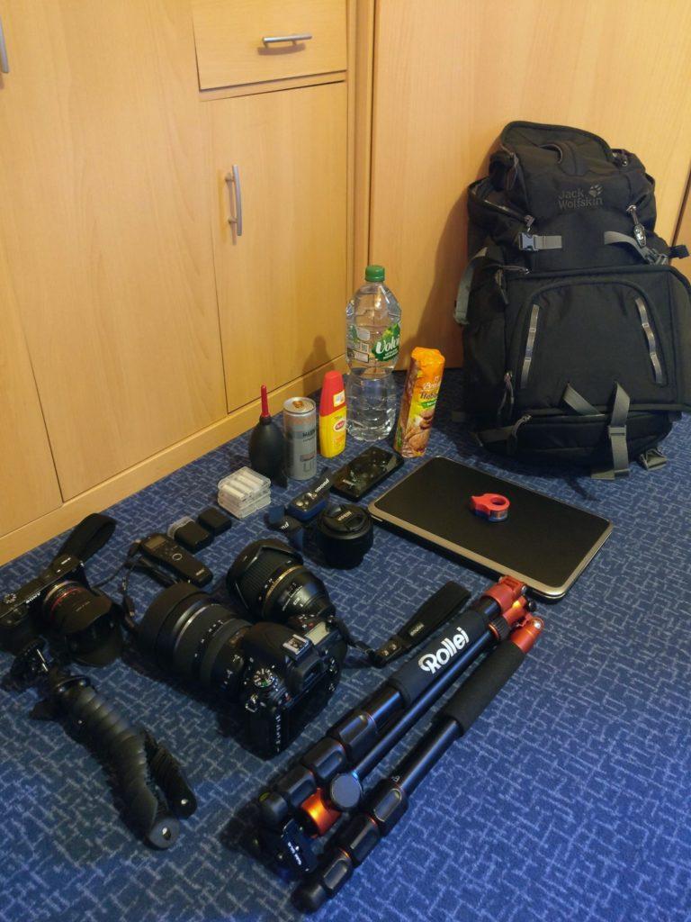 Equipment zur Milchstraßenfotografie