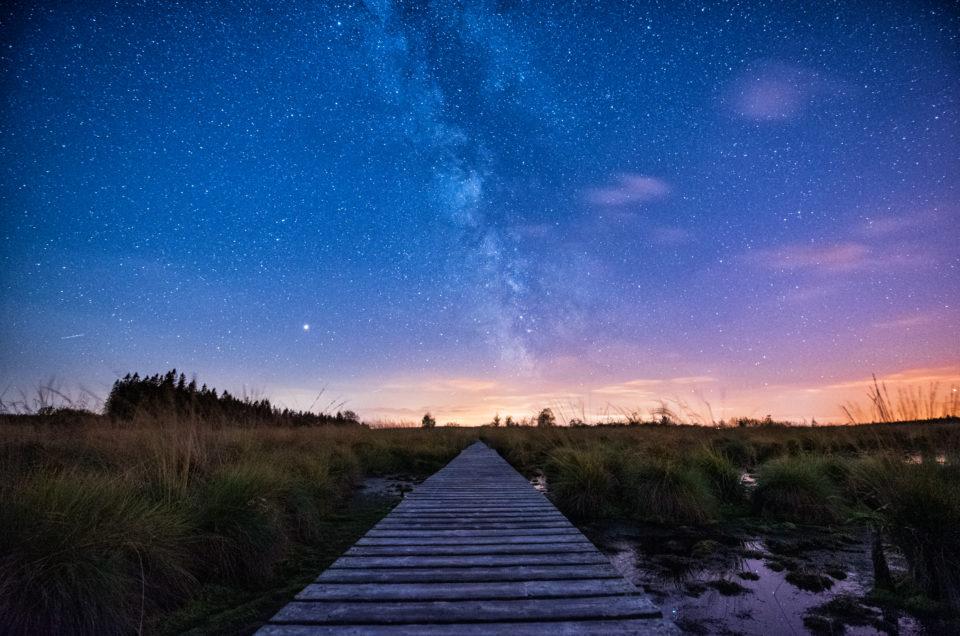 Milchstraße Hohes Venn