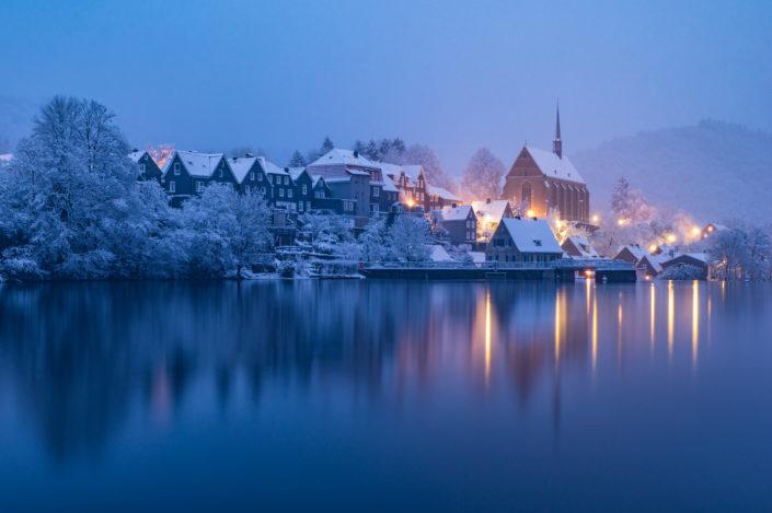 Wuppertal Beyenburg im Schnee