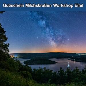 Gutschein Milchstraßen workshop eifel
