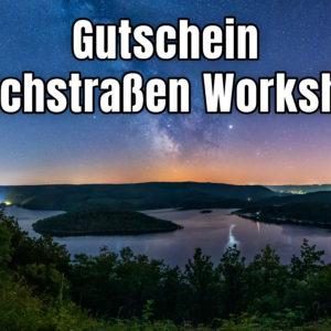 Milchstraßen Workshop Eifel Gutschein