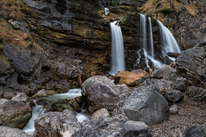 Bayern Kuhfluchtwasserfälle