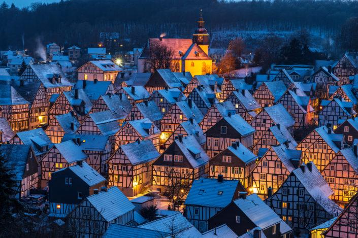 Freudenberg Schnee