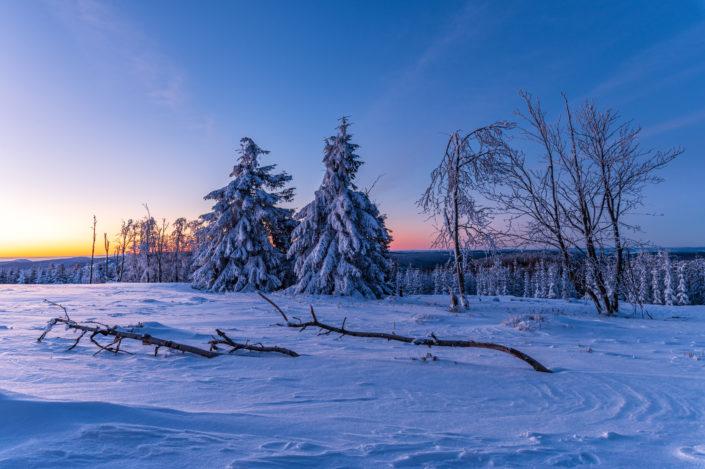 Kahler Asten Schnee Sauerland
